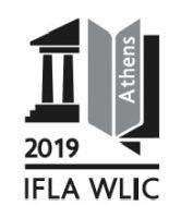 IFLA WLIC Logo B&W 2019