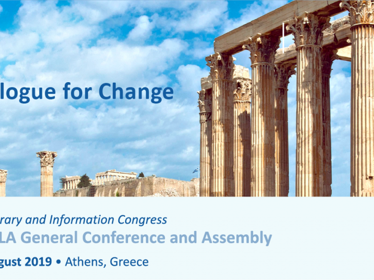 IFLA Congress Newsletter April Issue Cover Image