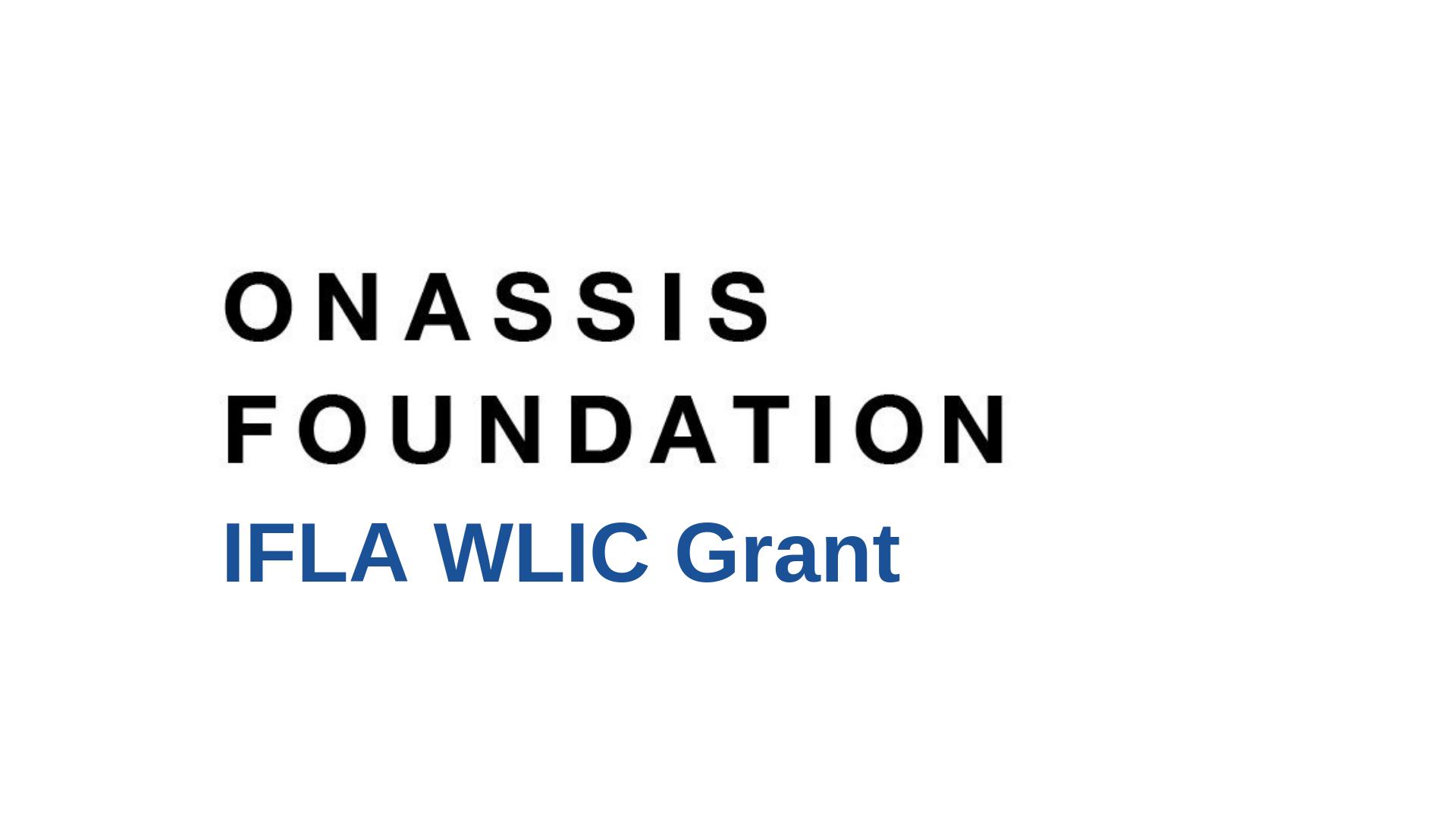 Onassis foundation grant