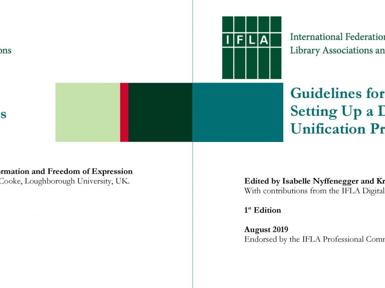 Two New IFLA Standards