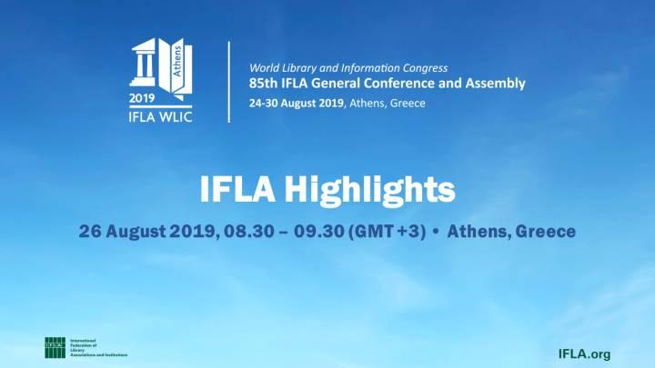 Live Streaming — IFLA WLIC 2019